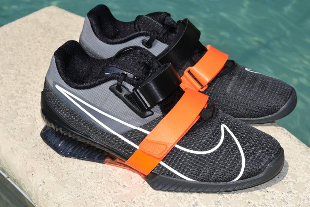 Nike Romaleos 4 - Black/Orange