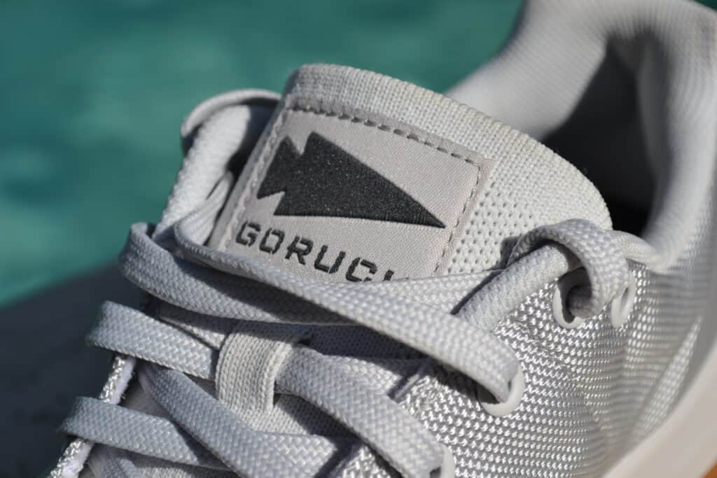 GORUCK Ballistic Trainer Shoe Review - Spearhead Logo