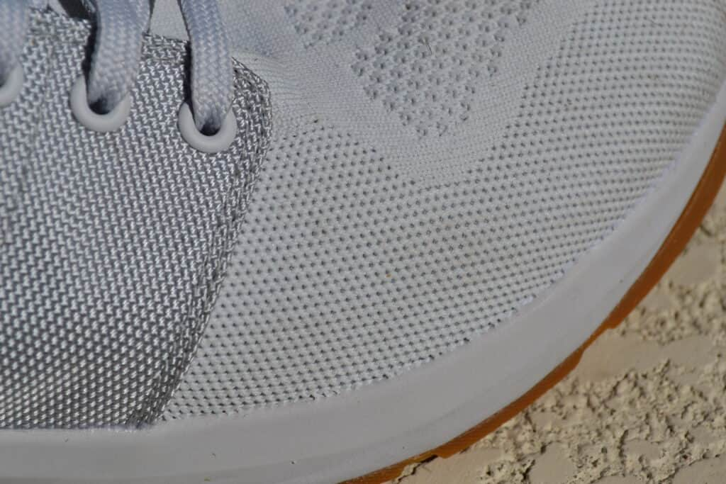 GORUCK Ballistic Trainer Shoe Review - Mesh Upper Closeup 2