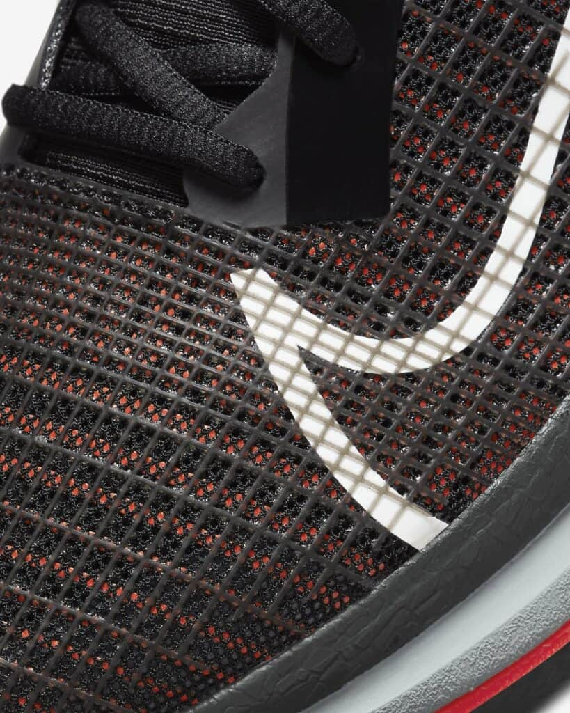 Nike ZoomX SuperRep Surge Upper Closeup View