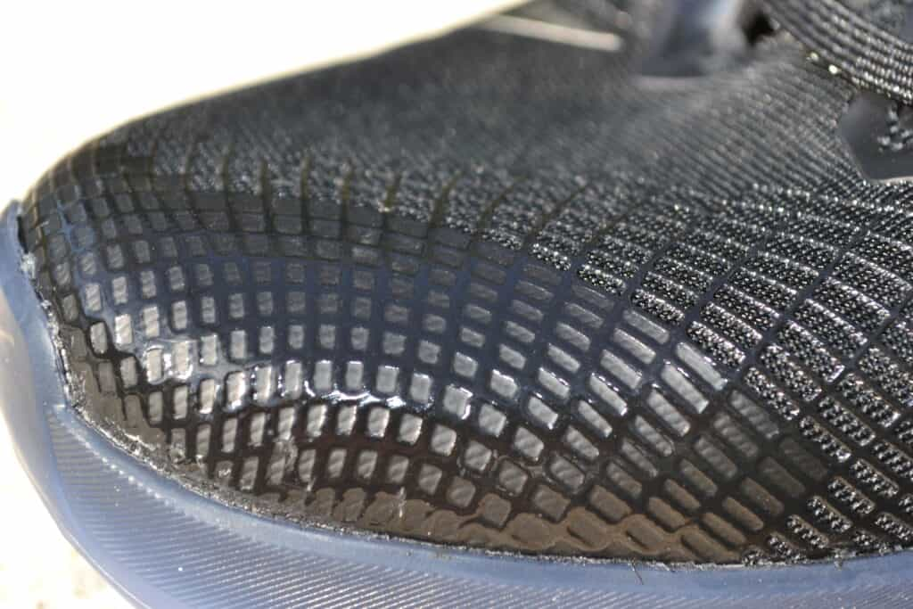 Nike Metcon 6 AMP Metallic Shoe Review - Upper Closeup