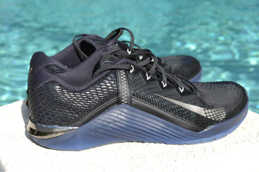 Nike Metcon 6 AMP Metallic Shoe Review - other side