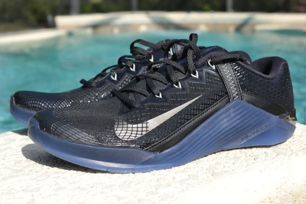 Nike Metcon 6 AMP Metallic Shoe Review - Side view 1