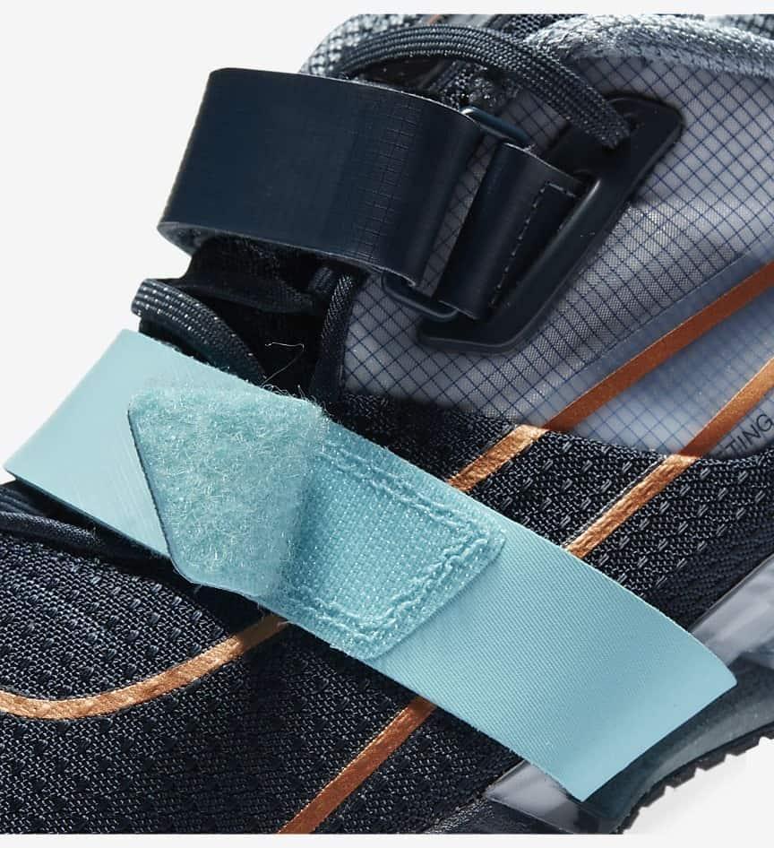 Nike Romaleos 4 close-up strap