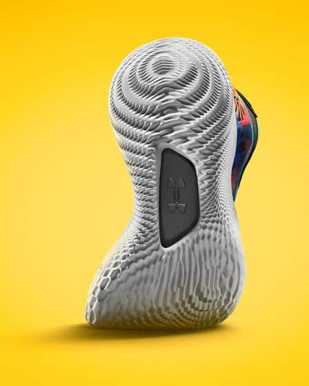 Under Armour Curry 8 Basketball Shoe outsole