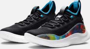 nder Armour Curry Flow 8 Basketball Shoe Curry Flow 8 Basketball Shoe close-up side view
