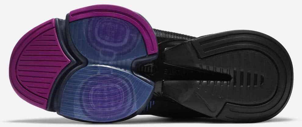 Nike Air Zoom SuperRep 2 outsoles-crop