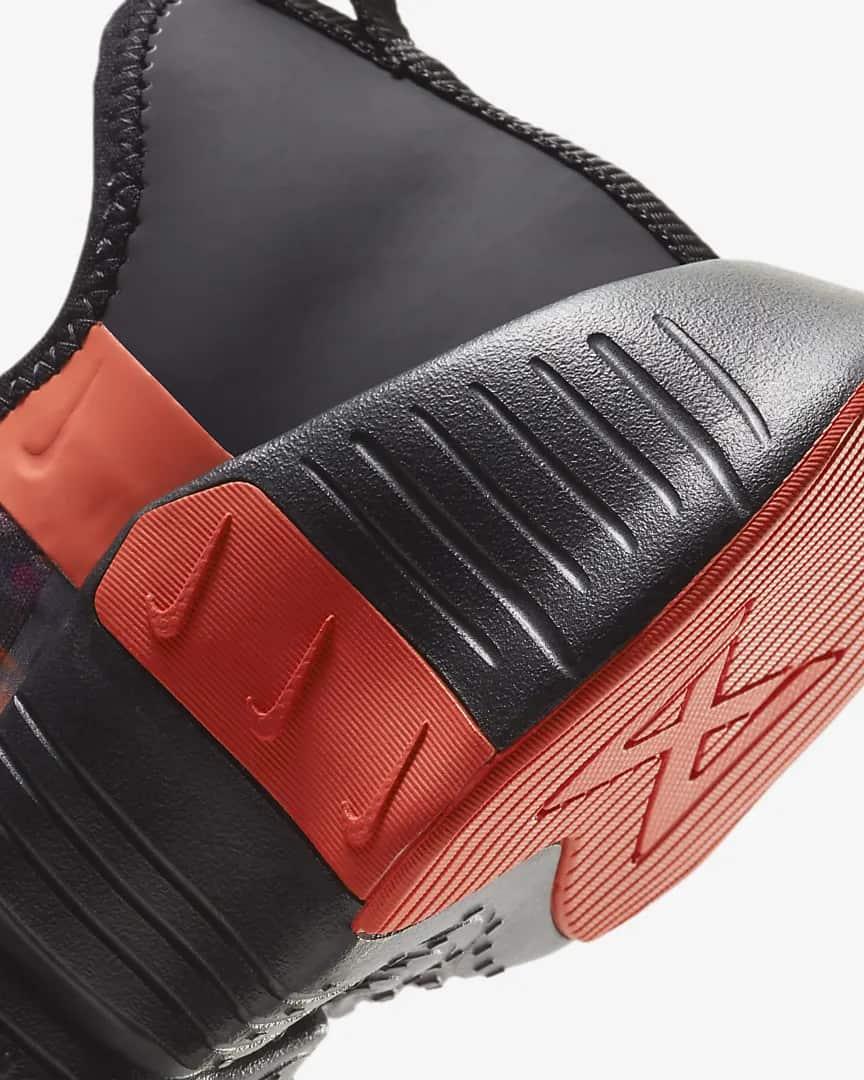Nike Free Metcon 3 Men's Training Shoe heel close up