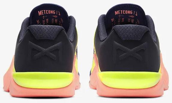 Nike Metcon 6 Men's Training back view pair-crop