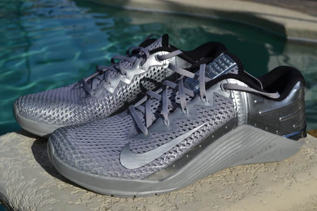 Nike Metcon 6 Premium Training Shoe Review Metallic Silver (16)
