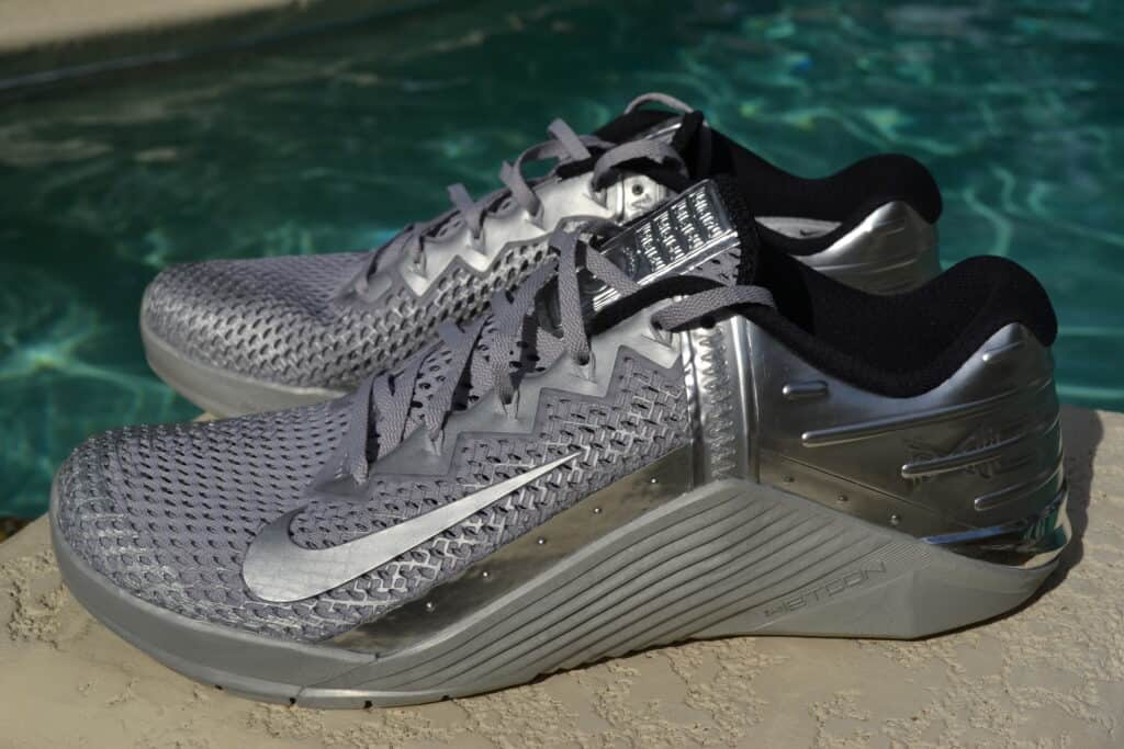 Nike Metcon 6 Premium Training Shoe Review Metallic Silver (28)