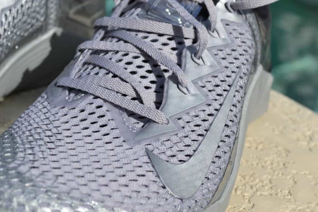 Nike Metcon 6 Premium Training Shoe Review Metallic Silver (7)