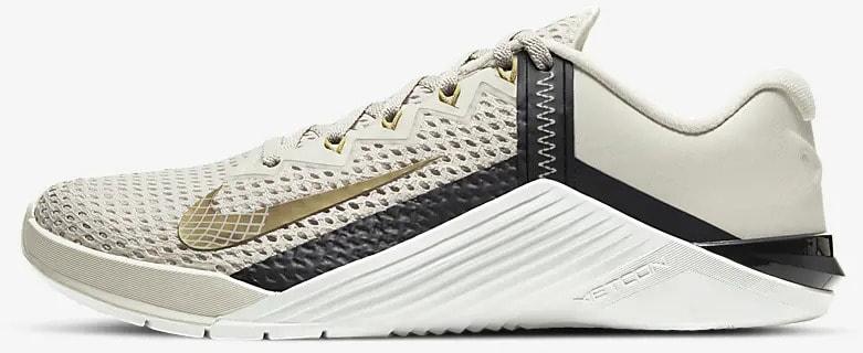 Nike Metcon 6 Women's Training Shoe side view left-crop
