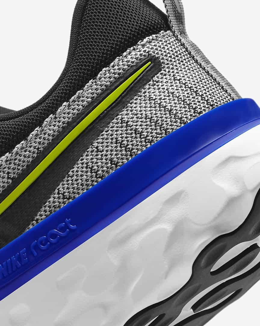 Nike React Infinity Run Flyknit 2 Men heel close up