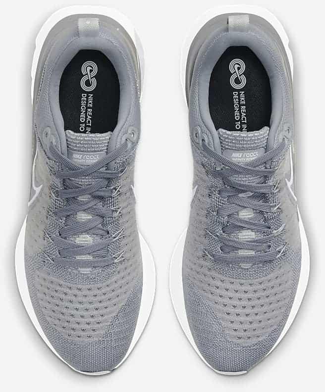 Nike React Infinity Run Flyknit 2 Men top pair