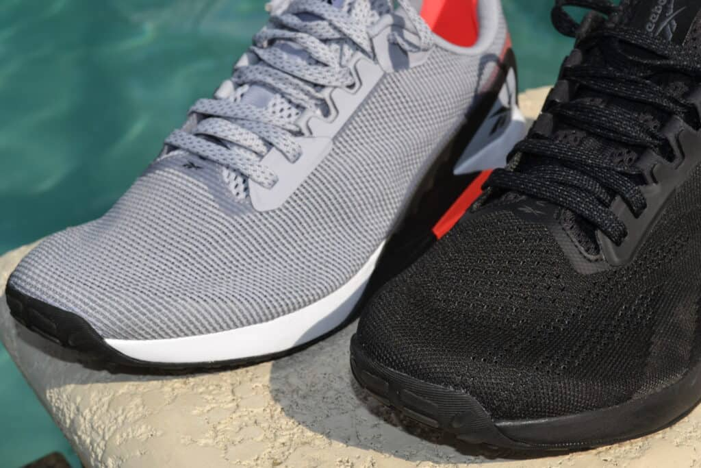 Reebok Nano X1 Grit Versus Knit - what's the differences in the two uppers?