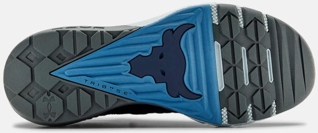 Under Armour Men's UA Project Rock 3 Training Shoes outsole-crop