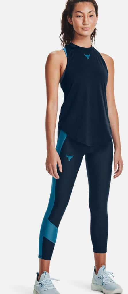 Under Armour Women's Project Rock Perf Tank full view-crop