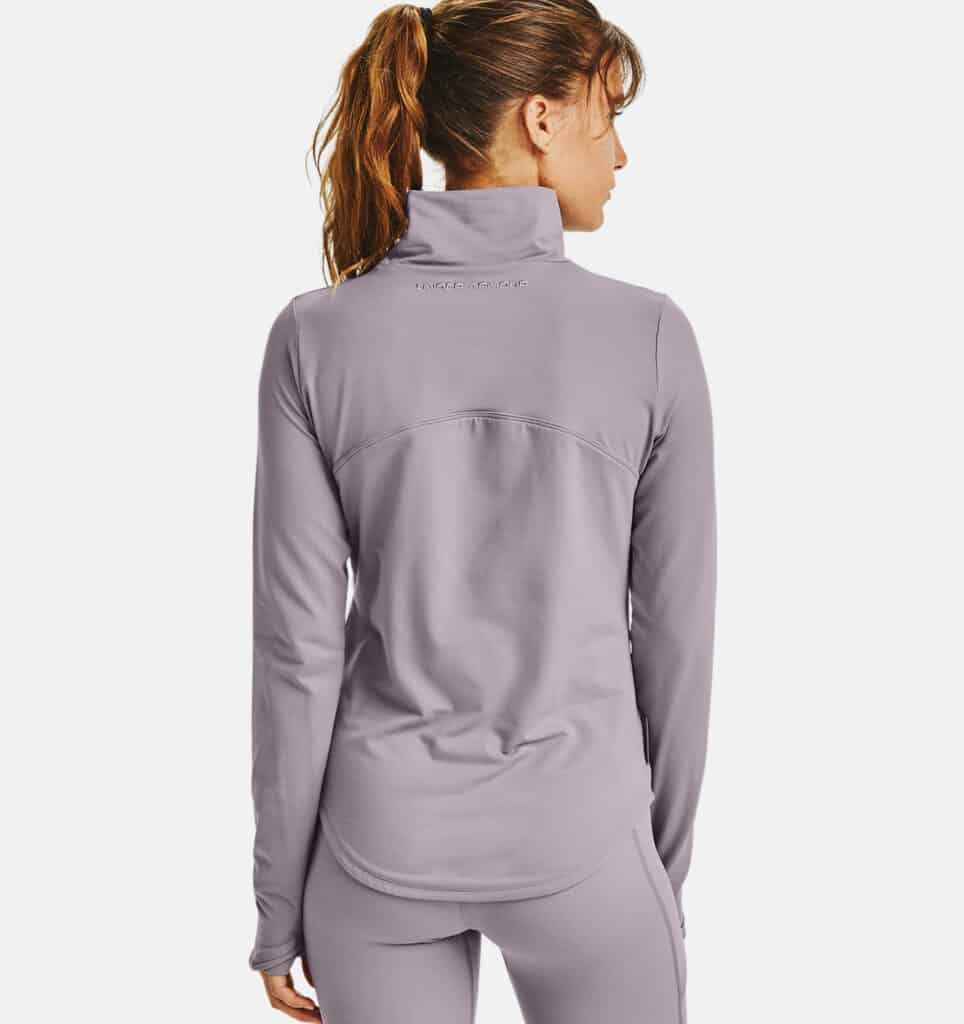 Under Armour Women's UA HydraFuse Long Sleeve back view half