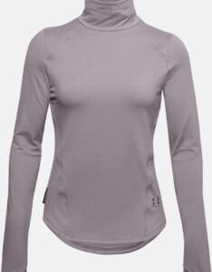 Under Armour Women's UA HydraFuse Long Sleeve close up front-crop