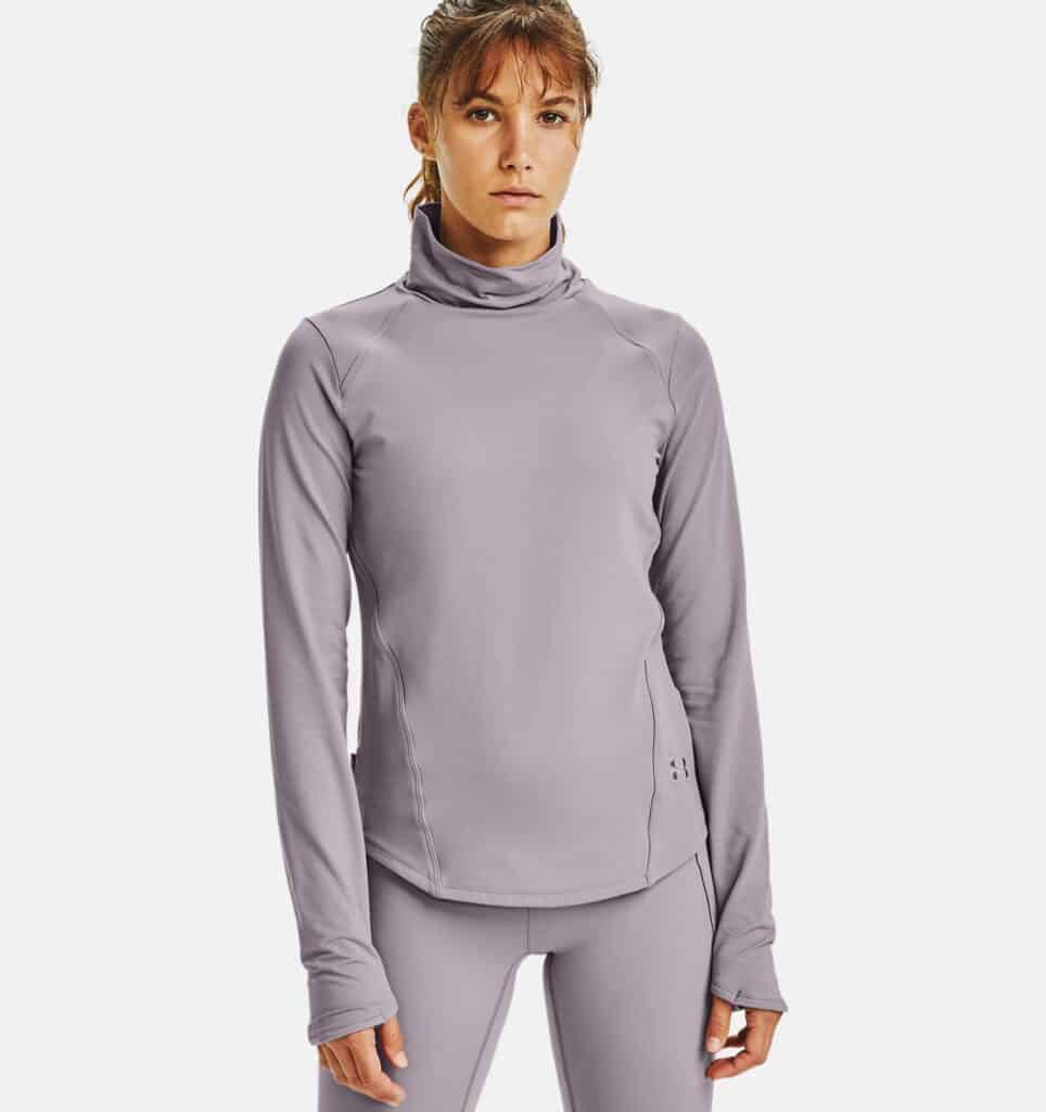 Under Armour Women's UA HydraFuse Long Sleeve full close up