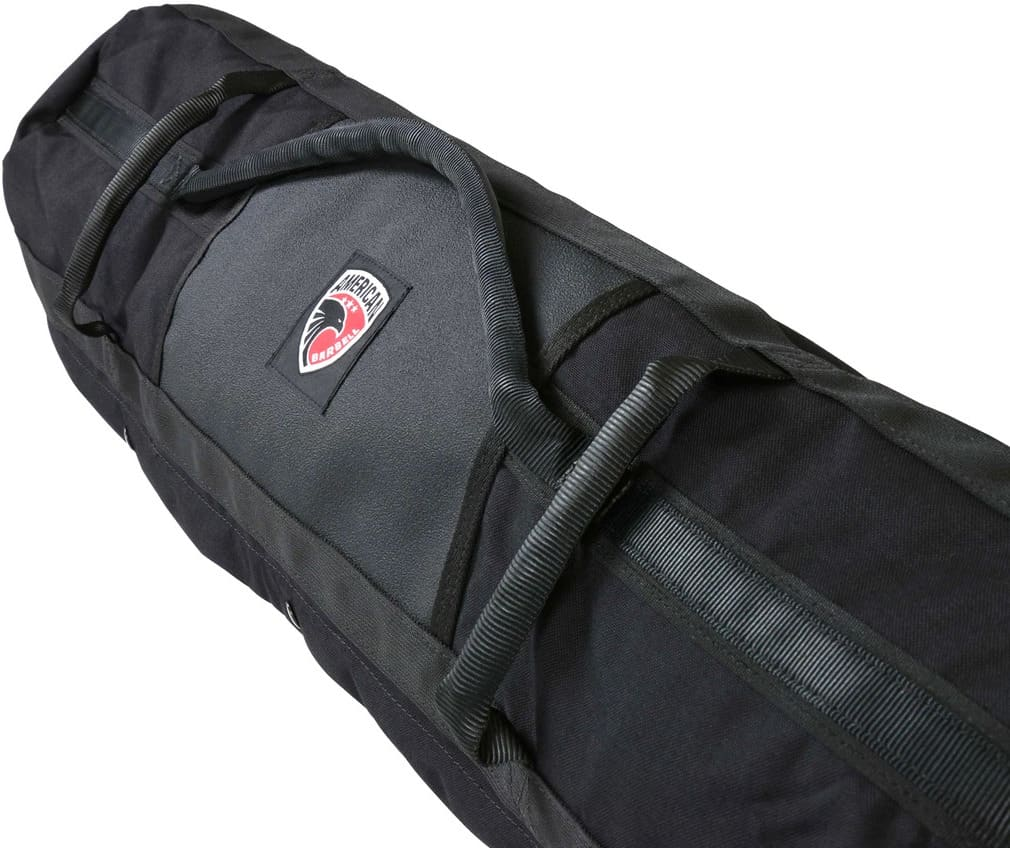 American Barbell Core Sandbag black quarter view