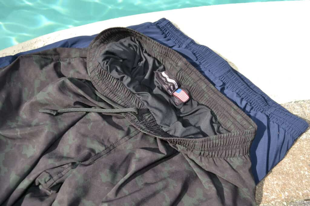 GORUCK American Training Shorts Navy and Camo Review (12)