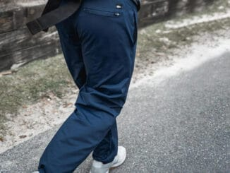 GORUCK American Training Sweat Pants used in running navy