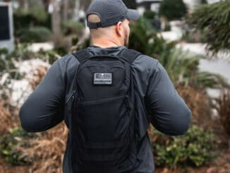 GORUCK Bullet Ruck worn black