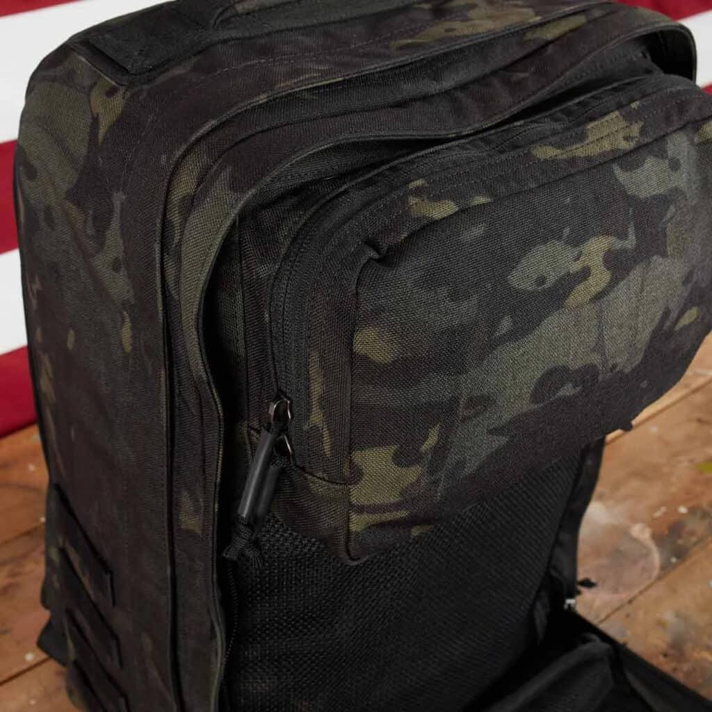 GORUCK GR2 black multicam with pouch