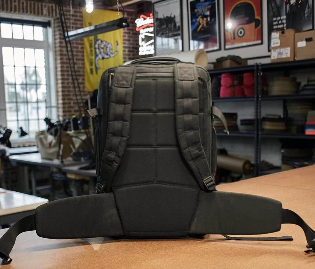 GORUCK GR3 black back full view