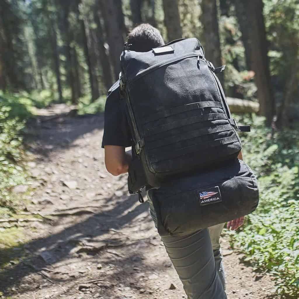 GORUCK GR3 black for hiking