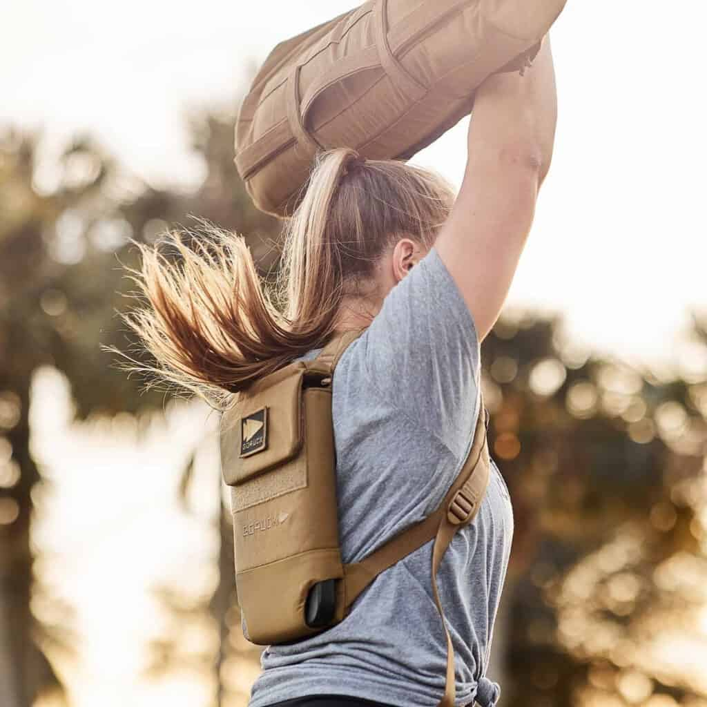 GORUCK Ruck Plate Carrier 2.0 coyote brown overhead