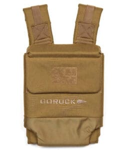 GORUCK Ruck Plate Carrier 2.0 full view coyote brown