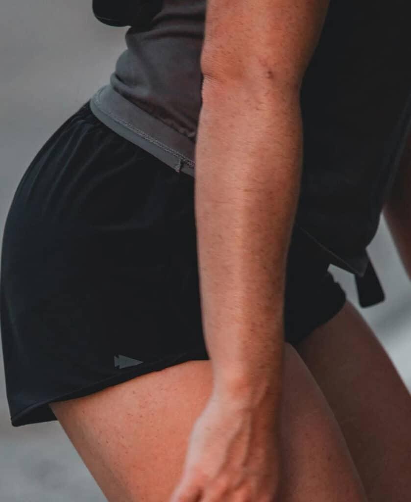GORUCK Womens American Training Shorts squat