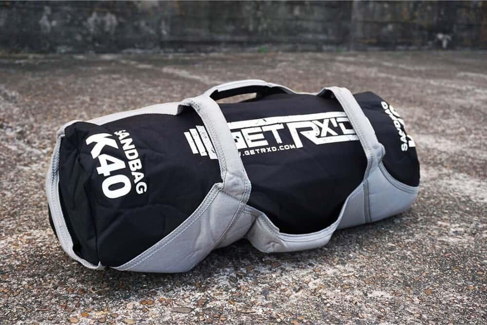 Get RX'd Heavy Duty Sandbag k40 quarter view