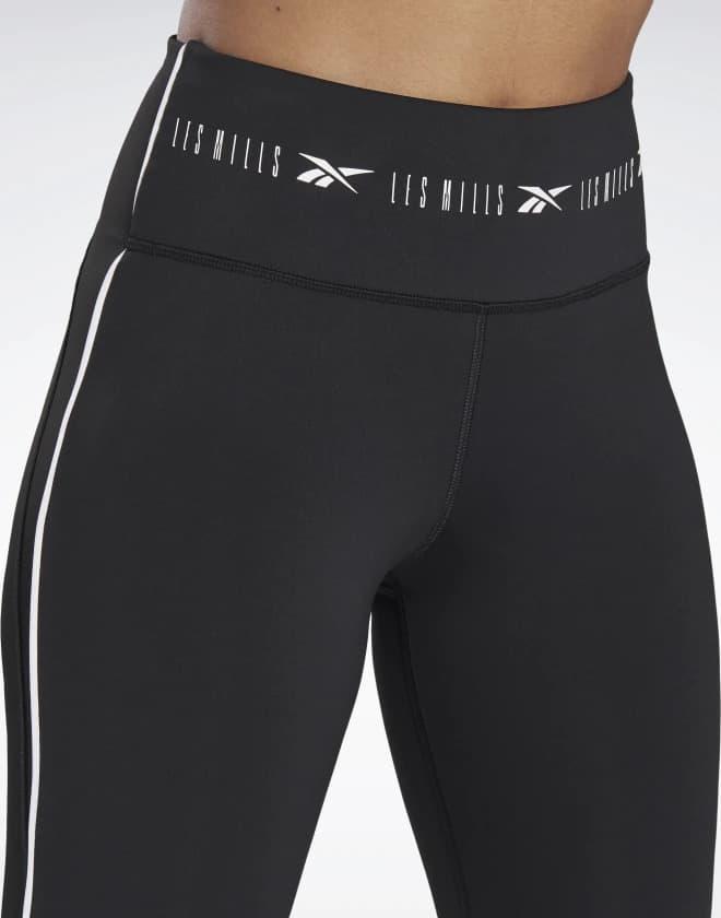 High-Rise ¾ Length Leggings waistband