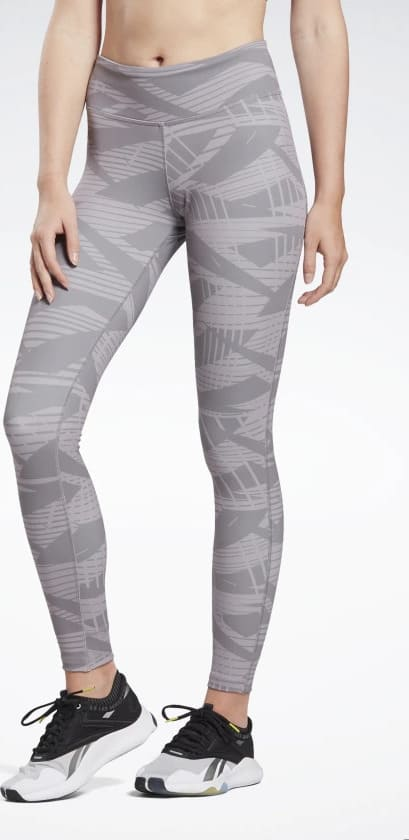Lux Bold 2 Leggings front view when worn