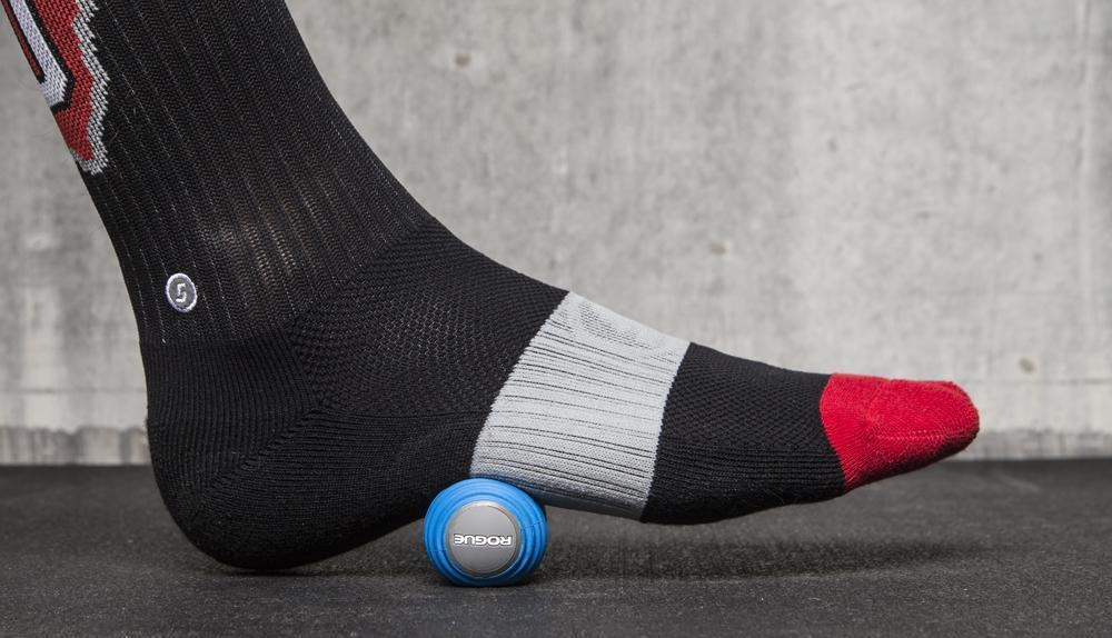 MobilityWOD Foot Roller used in the sole