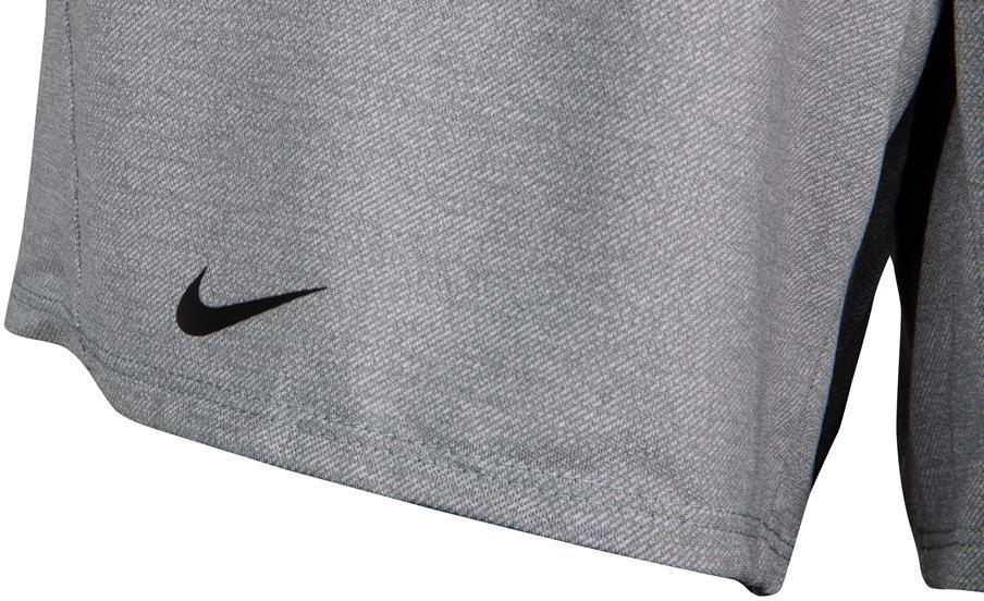 Nike Women's Attack Shorts Particle Gray Heather Hem