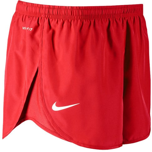 Nike Women's Mod Tempo Shorts Red Side Logo