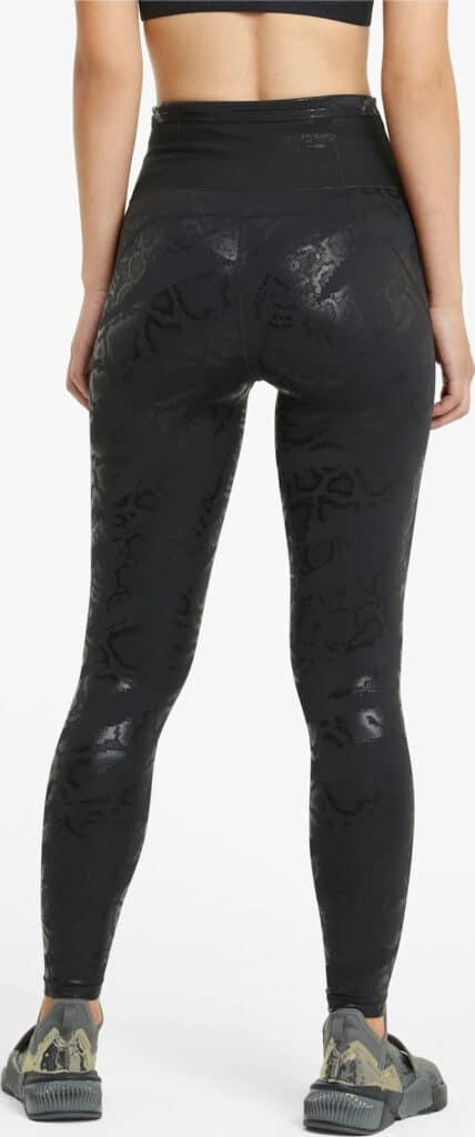 PUMA Untamed Women AOP 7 8 Training Leggings back view