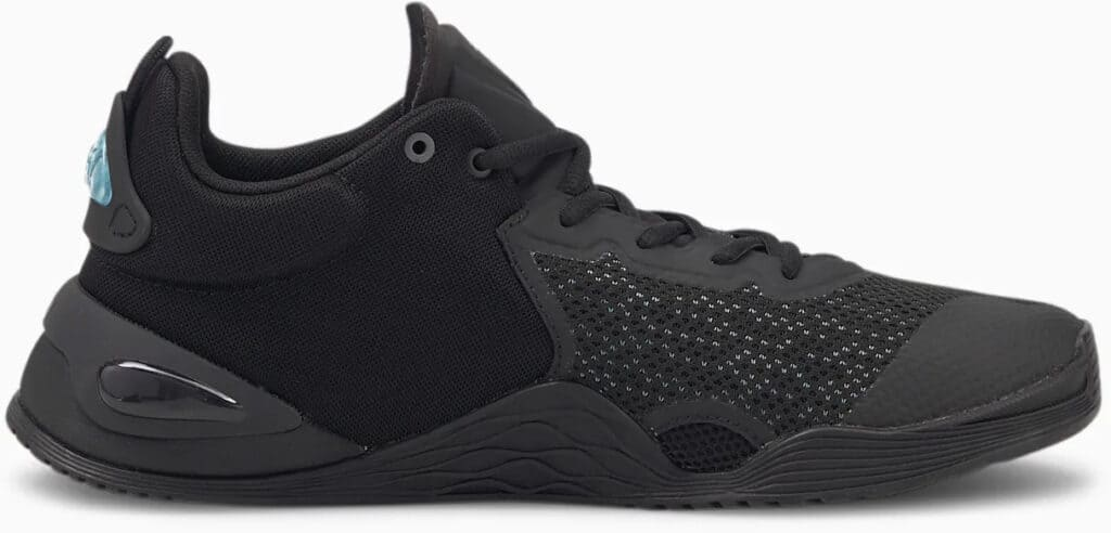 PUMA FUSE Training Shoes Black side view right