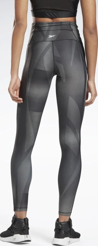 Reebok Lux Bold High-Rise Vector Block Tights back view