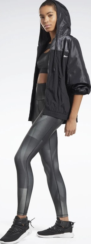 Reebok Lux Bold High-Rise Vector Block Tights side view