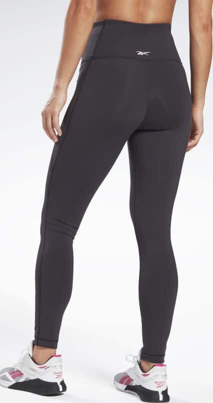 Reebok Lux High Rise Leggings black waist 24