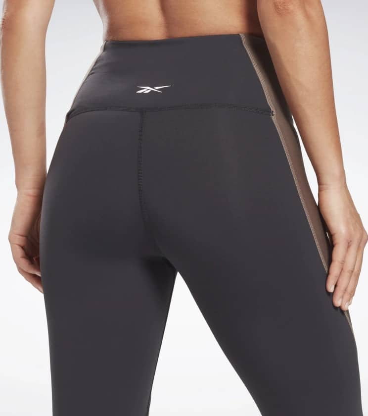 Reebok Lux High-Rise Leggings close up back