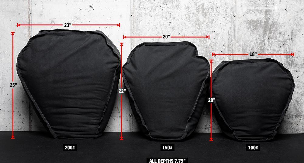 Rogue Husafell Strongman Bag different weights
