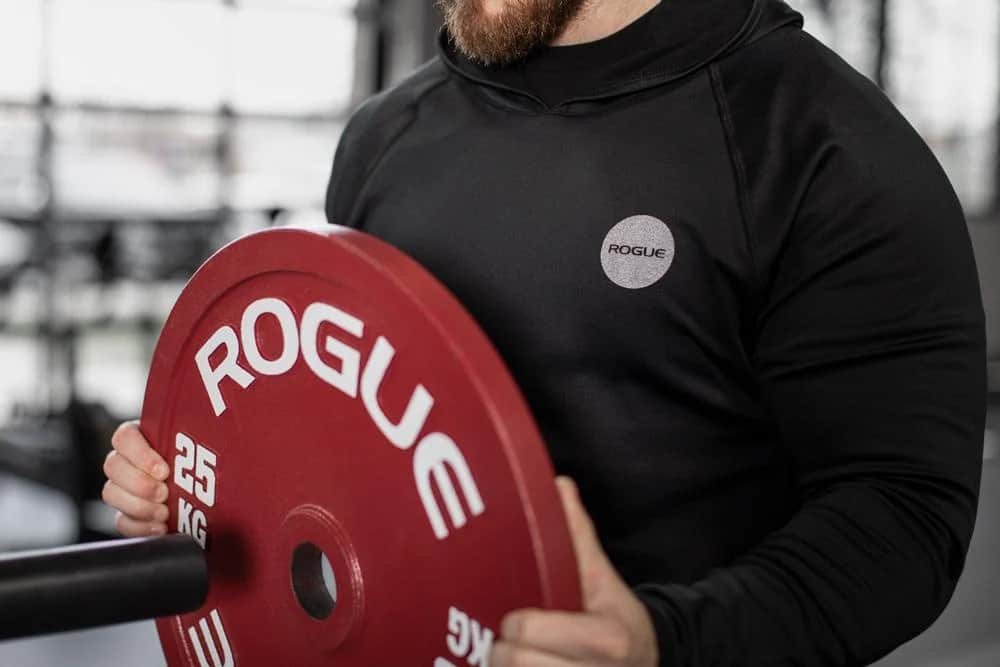 Rogue Men's Tech Hoodie Used when working out