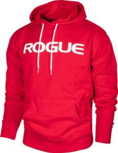 Rogue Midweight Basic Hoodie Red